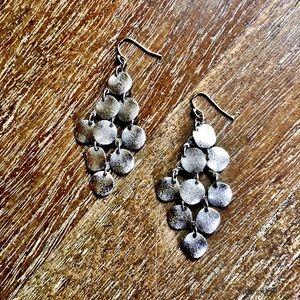 AEO Silver Chandelier Earrings